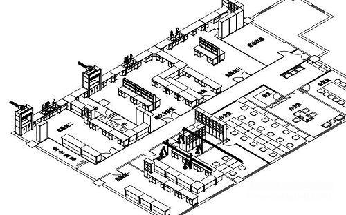 实验室平面设计