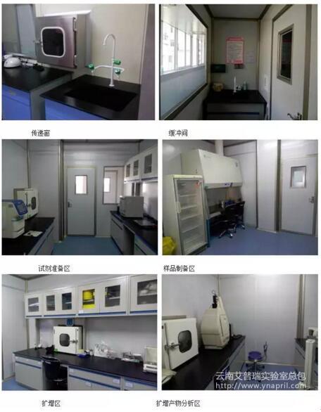 PCR实验室功能区